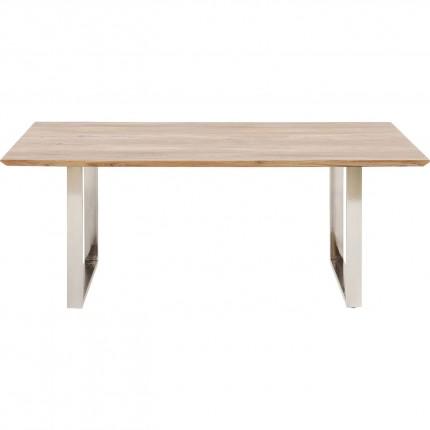 Table Symphony chrome 180x90cm Kare Design