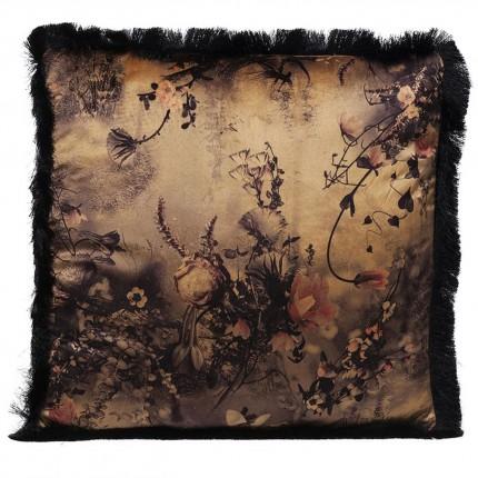 Coussin Romantic Garden Fringe 45x45cm Kare Design