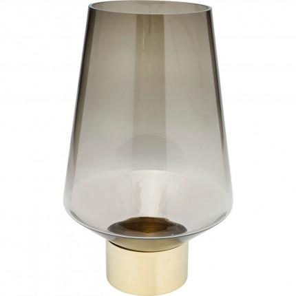 Vase Noble Ring marron 40cm Kare Design
