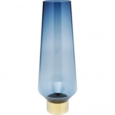 Vase Noble Ring bleu 60cm Kare Design