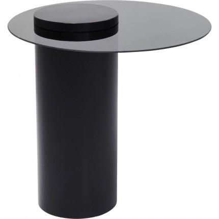 Table d'appoint Loft noire 60cm Kare Design