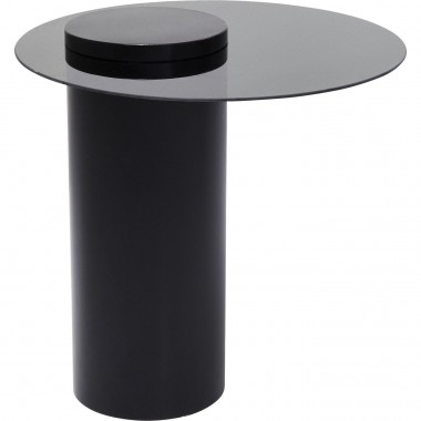 Table d'appoint Loft noire 60cm Kare Design