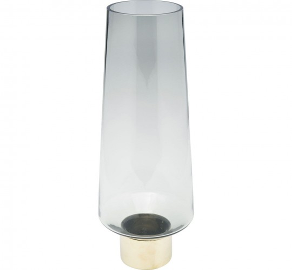 Vase Noble Ring gris 40cm Kare Design