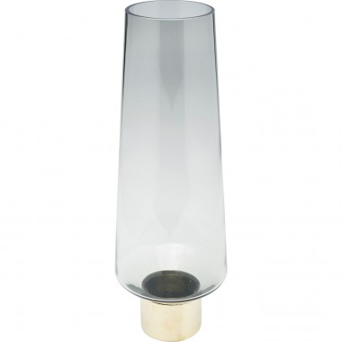 Vase Noble Ring gris 40cm Kare Design