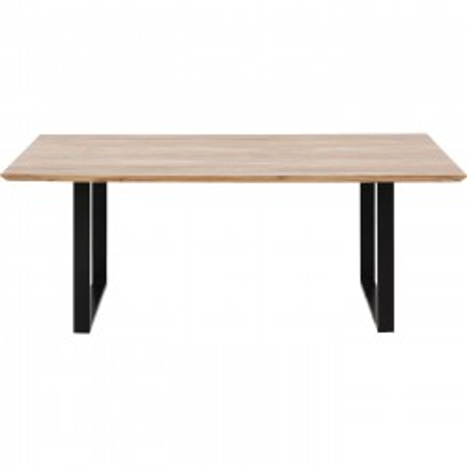 Table Symphony noir 180x90cm Kare Design