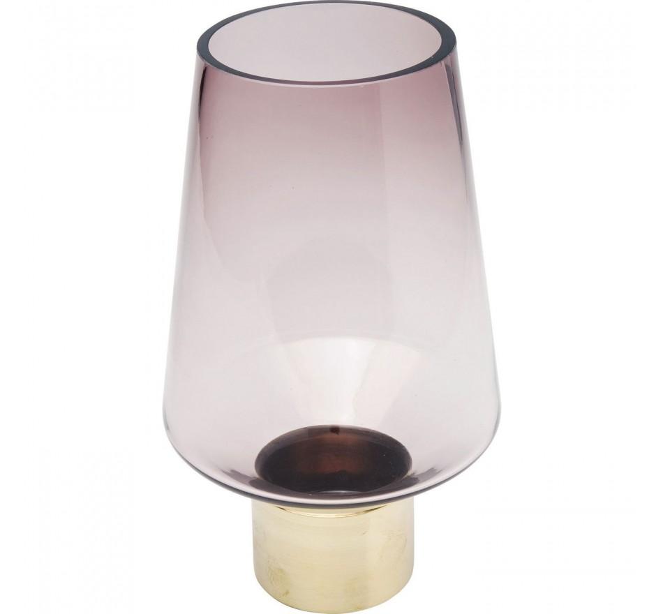 Vase Noble Ring violet 26cm Kare Design
