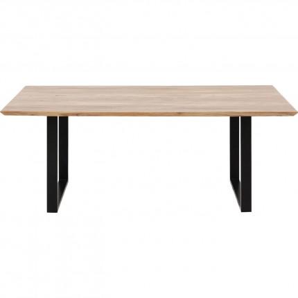 Table Symphony acacia noire 160x80cm Kare Design