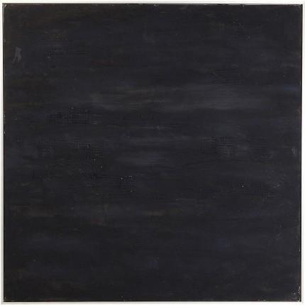 Peinture à l'huile Abstract Deep noir 155x155cm Kare Design