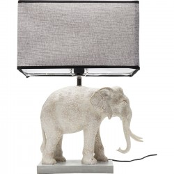 Lampe de table Éléphant gris Kare Design
