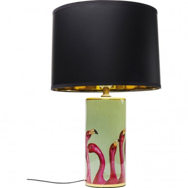 Lampe de table flamants roses Kare Design