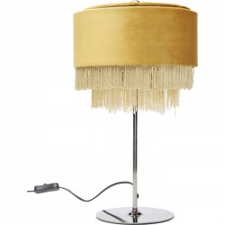 Lampe de table Tassel jaune Kare Design