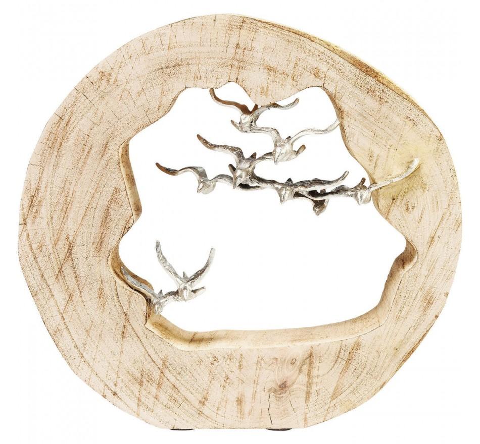 Déco Souche Oiseaux Kare Design