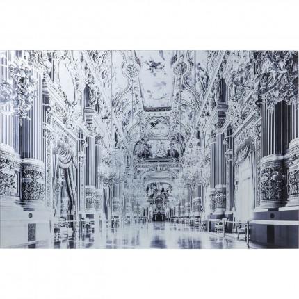 Tableau en verre Versailles 120x80cm Kare Design