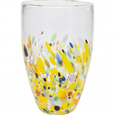 Vase Abstract Dots 29cm Kare Design