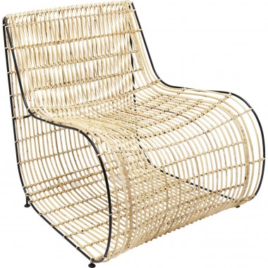 Fauteuil Village Swing rotin Kare Design