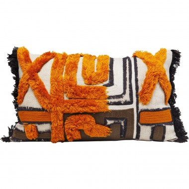 Coussin Wild Life orange 50x30cm Kare Design