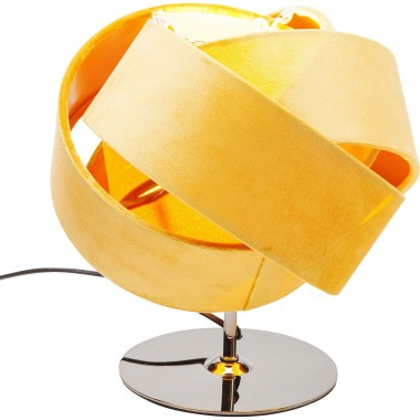 Lampe de table Knot jaune Kare Design