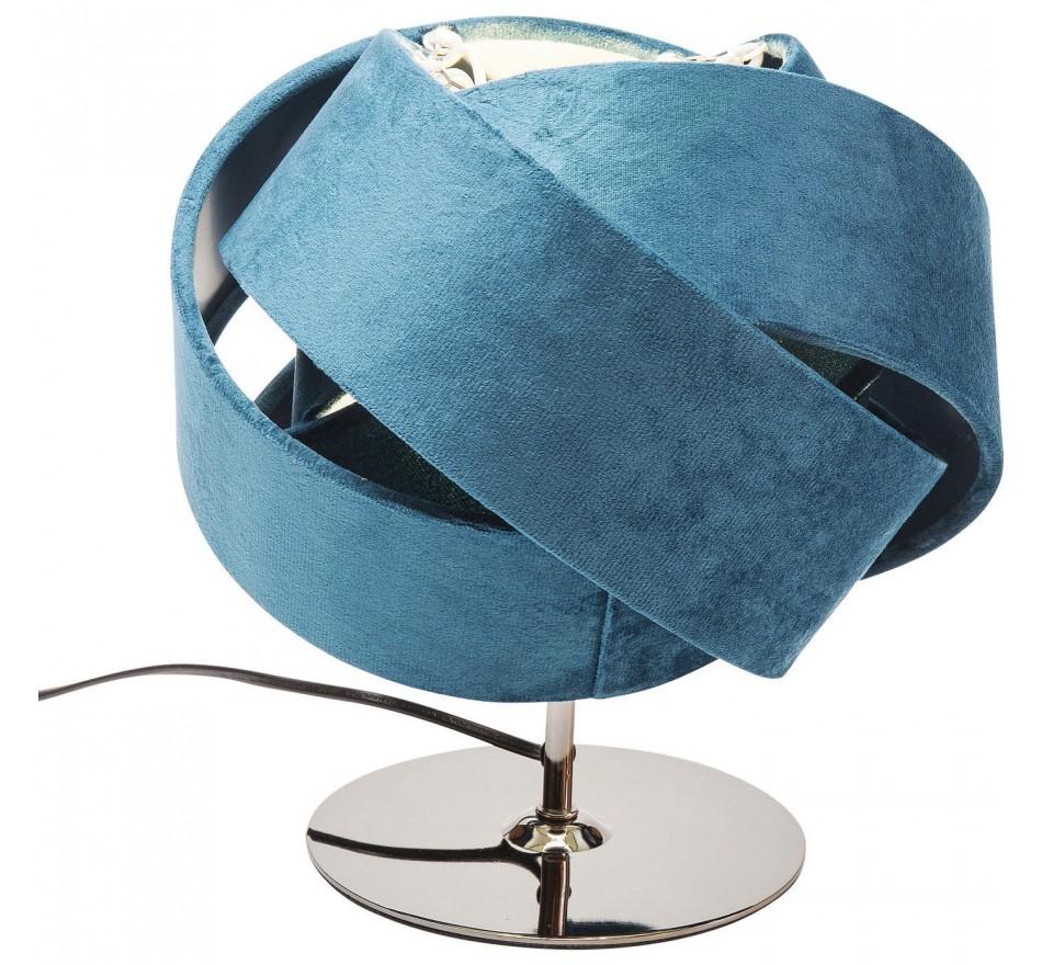 Lampe de table Knot bleu pétrole Kare Design