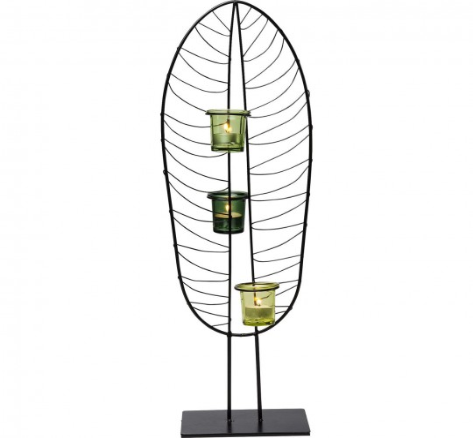 Photophore feuille 67cm Kare Design