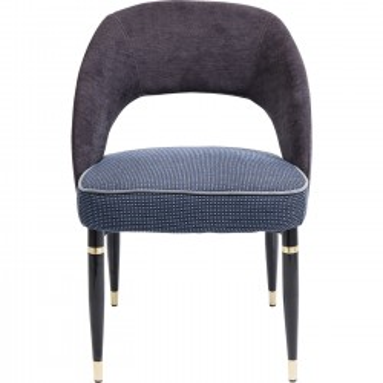 Chaise Samantha grise Kare Design