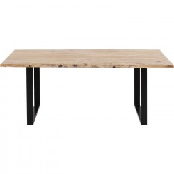 Table Harmony acacia noire 180x90cm Kare Design