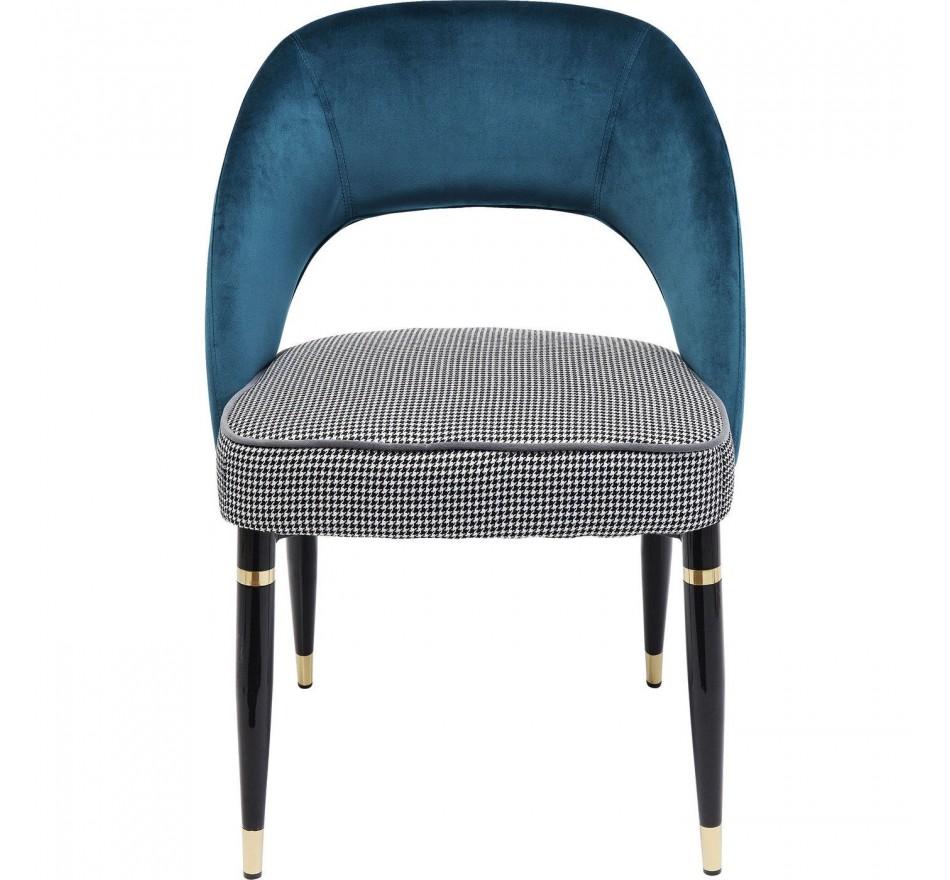 Chaise Samantha bleue Kare Design