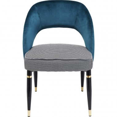 Chaise Samantha bleue Kare Design