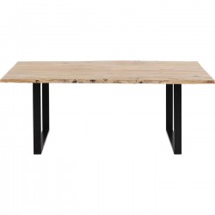 Table Harmony noire 160x80cm Kare Design