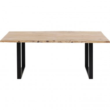 Table Harmony noire 160x80cm Kare Design