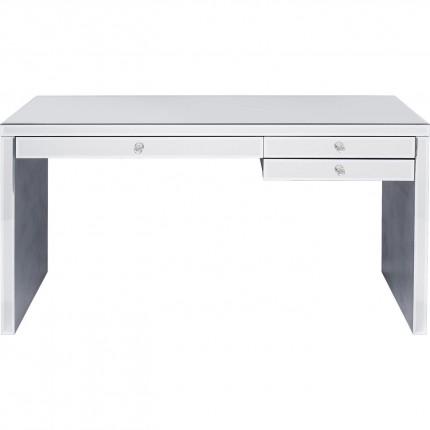 Bureau Luxury argent 140x60cm Kare Design