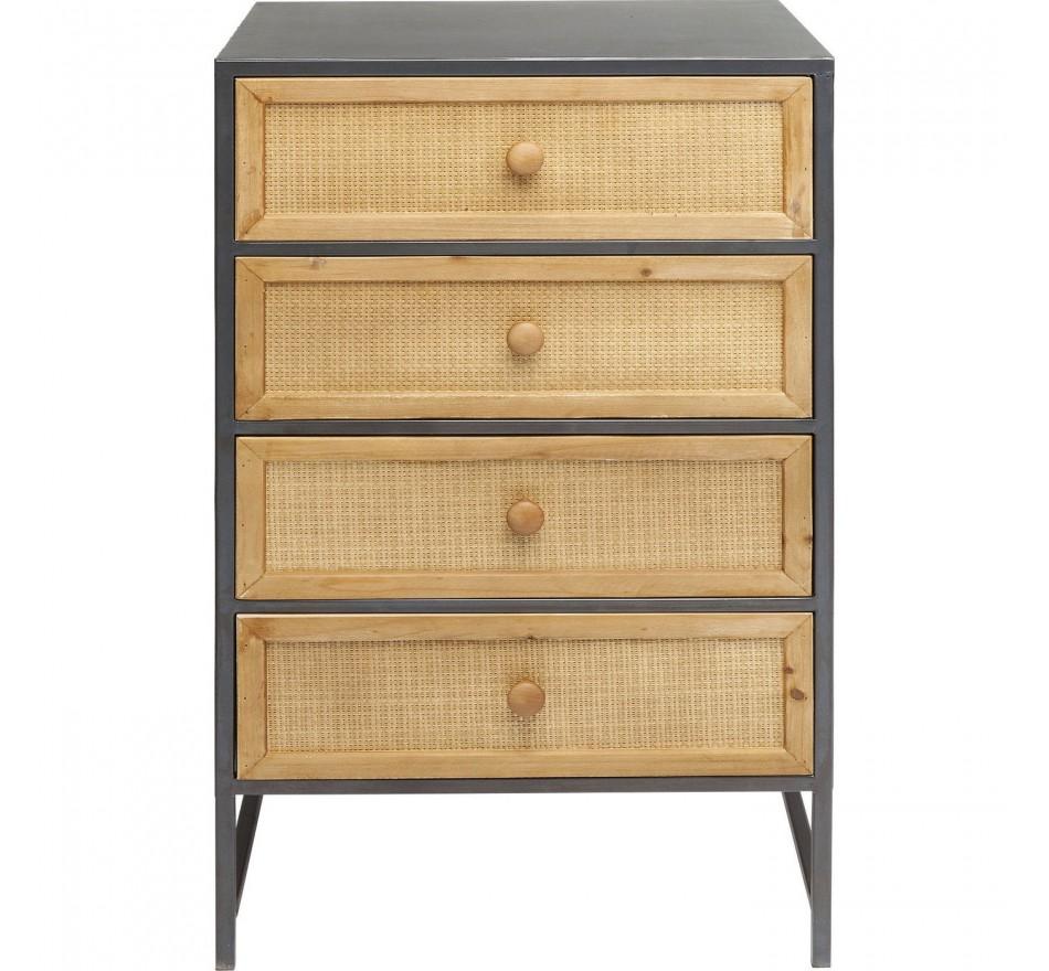Chiffonnier Bistro 4 tiroirs Kare Design