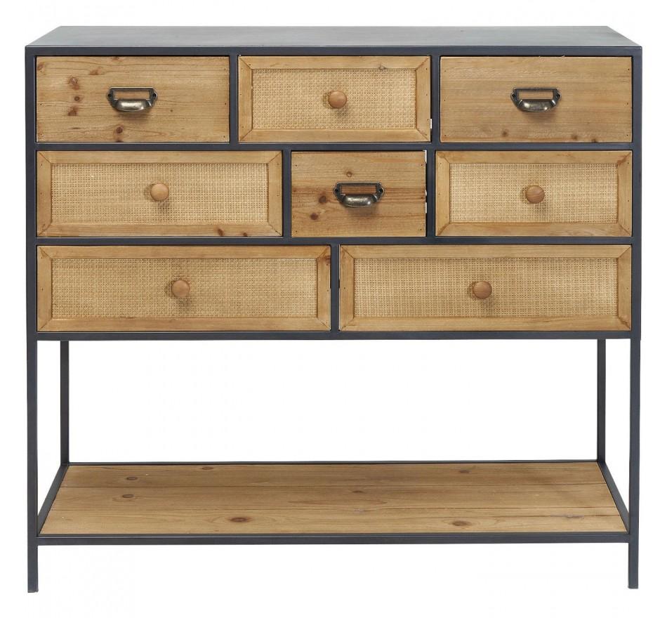 Commode Bistro 8 tiroirs Kare Design