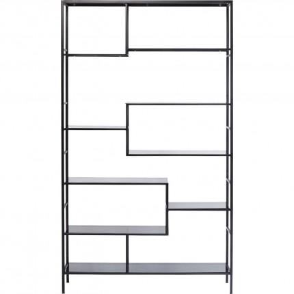 Étagère Loft 195x115cm noire Kare Design