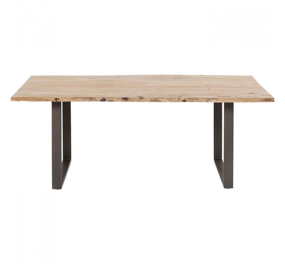 Table Harmony acier 180x90cm Kare Design