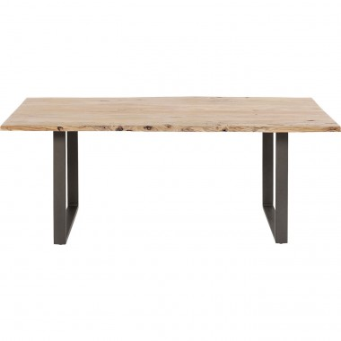 Table Harmony acier 180x90cm Kare Design