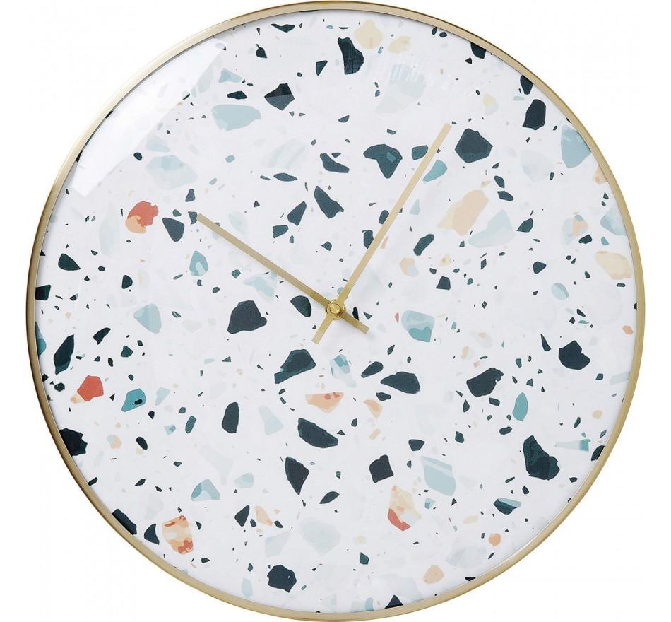 Horloge murale Terrazzo 40cm Kare Design
