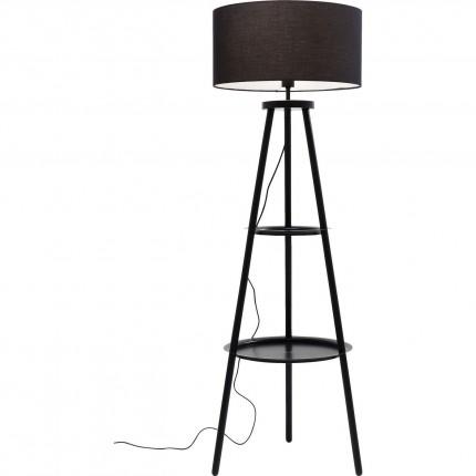 Lampadaire Tripod Steps noir Kare Design