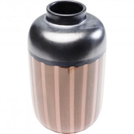 Vase Mocca rayures 28cm Kare Design