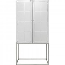 Armoire bar Luxury argent Kare Design