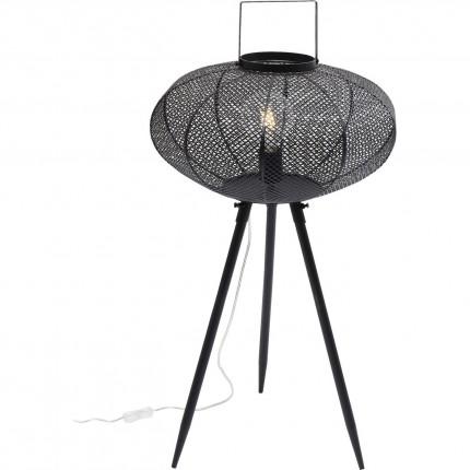 Lampadaire Lampion noir 75cm Kare Design