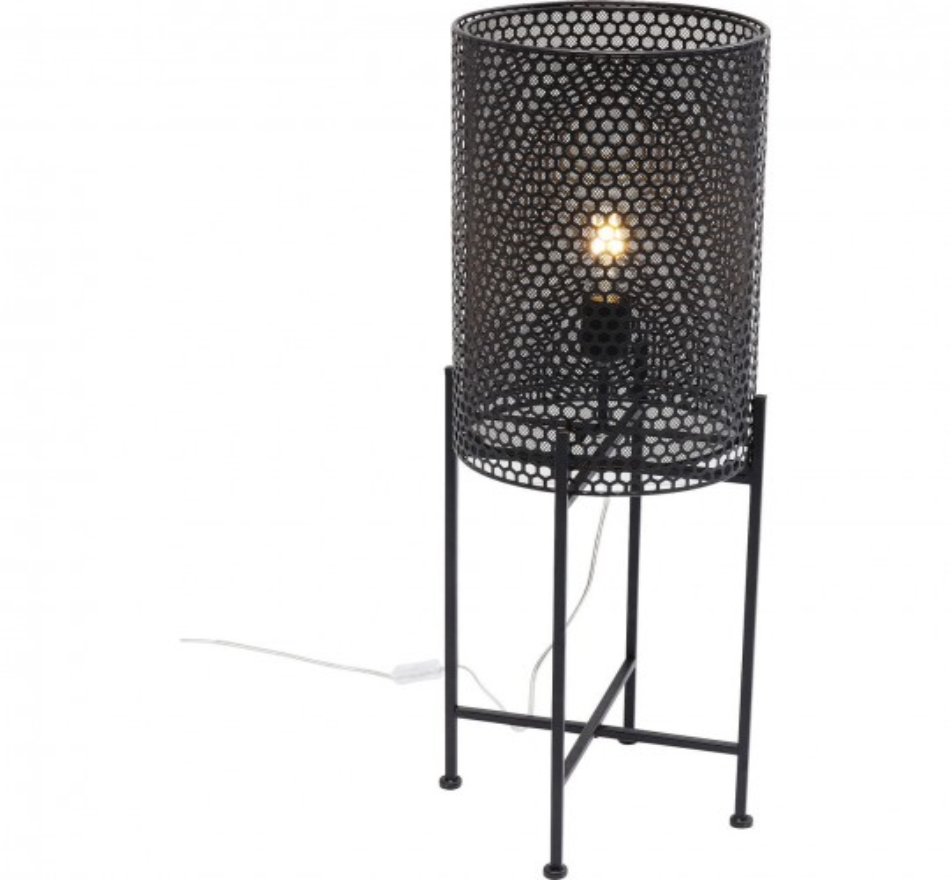 Lampadaire Cut noir 78cm Kare Design