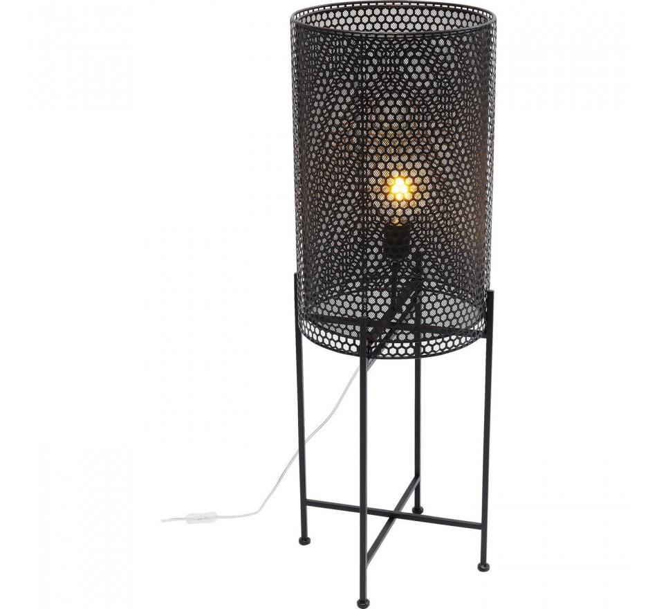 Lampadaire Cut noir 96cm Kare Design