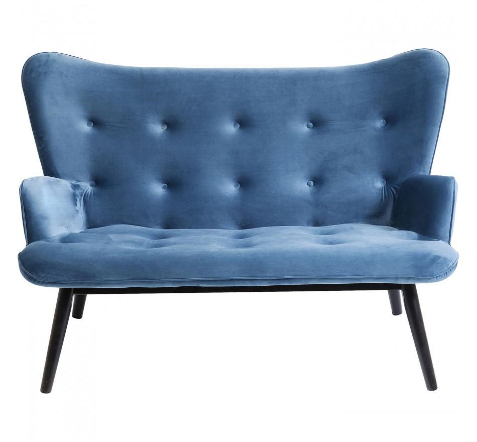 Parfait Canapé Vicky Velours Bleu Pétrole Kare Design