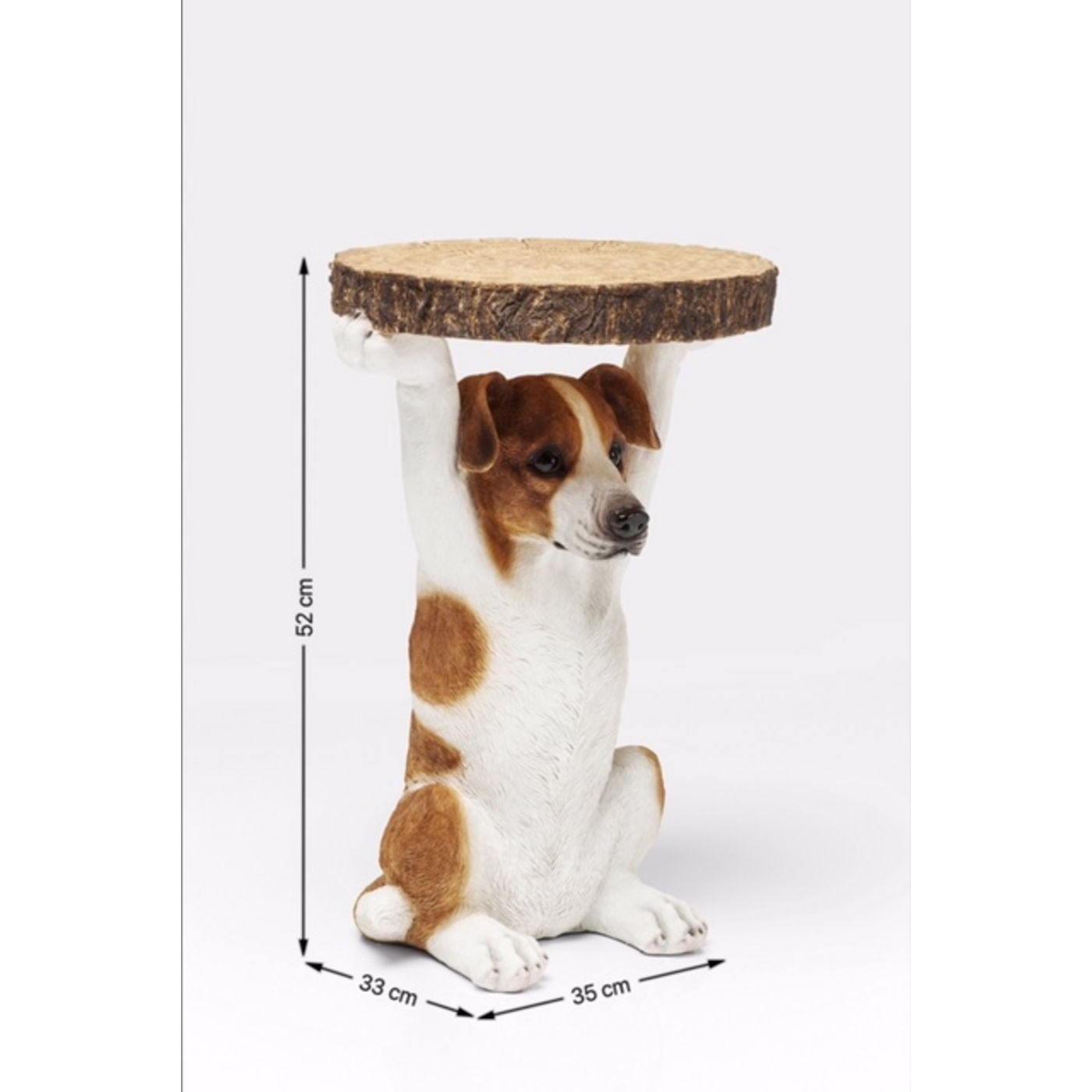 Table d'appoint Animal Chien Kare Design