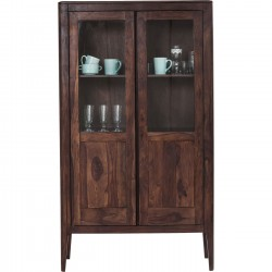 Vitrine Brooklyn walnut Kare Design