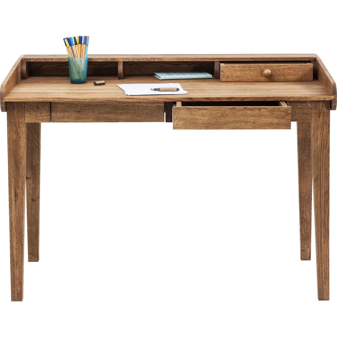 Bureau en bois Attento 118x70cm Kare Design