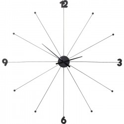 Horloge Umbrella Noire Kare Design