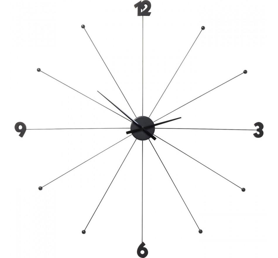 Horloge Umbrella Noire Kare Design