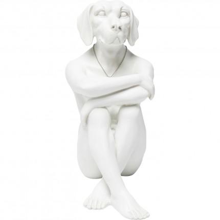 Déco figurine Gangster Dog Cream Kare Design
