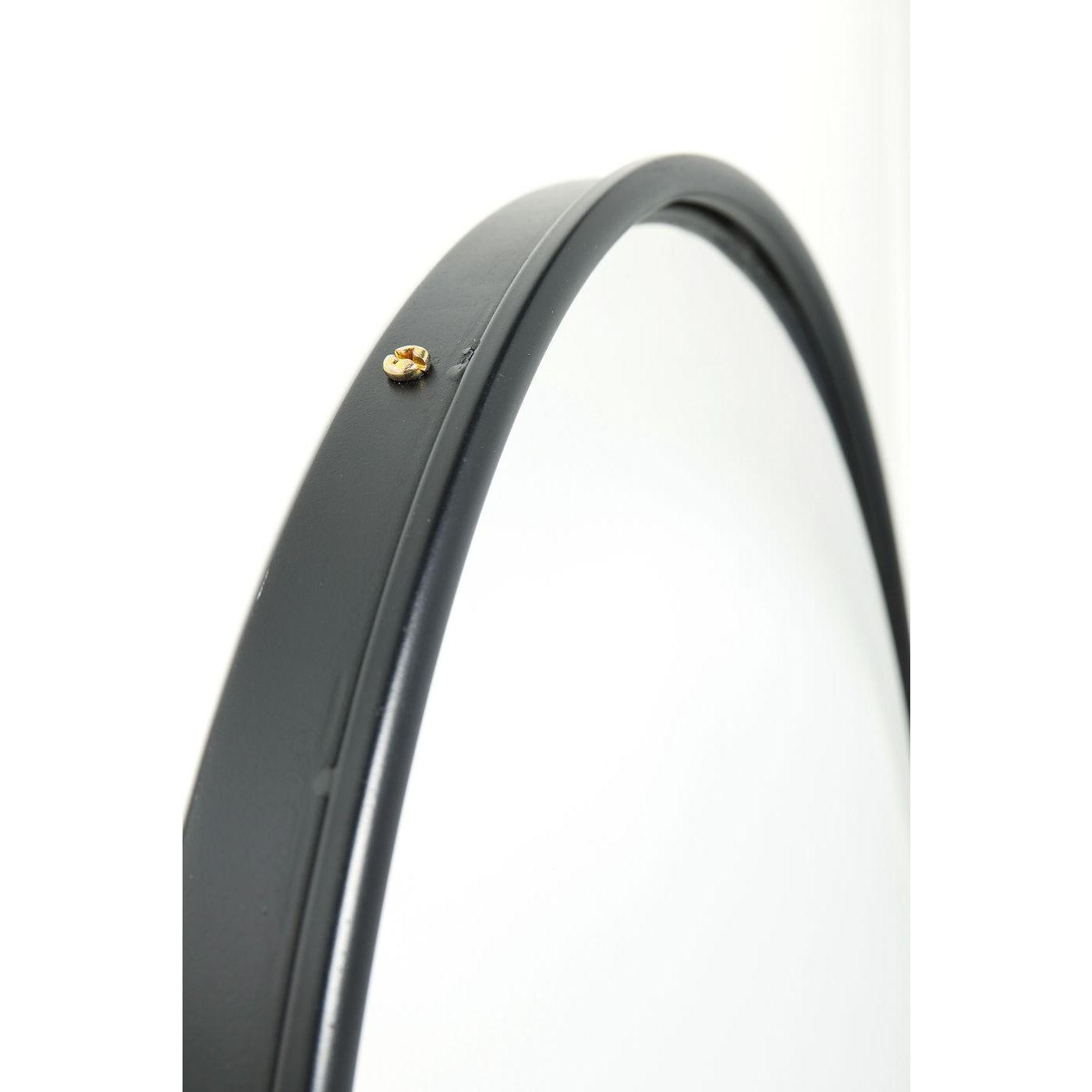 Miroir Célébration noir mat 100cm Kare Design
